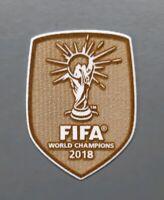 Patch Badge Fußball Weltmeister World Champions 2018 Trikot Frankreich WM Winner