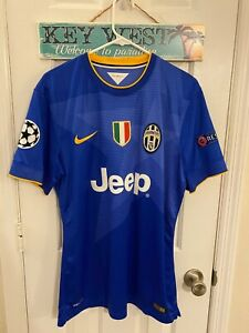 2014 Juventus Match Worn Paul Pogba Player Issue Shirt France Manchester United