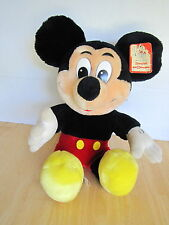VINTAGE DISNEY MICKEY MOUSE SOUVENIR PLUSH STUFFED ANIMAL TOY DISNEYLAND w/TAGS
