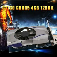 Computer Graphics Card GT730 4G 128bit DDR5 PCI-E Gaming Video For Windows PC