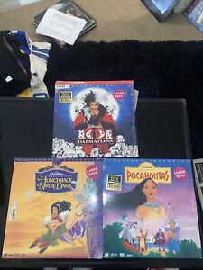 LaserDisc Lot 15 Movies Walt Disney Classics See List Mickey Beauty 5 Sealed
