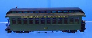 On30 BACHMANN SPECTRUM COLORADO & SOUTHERN OBSERVATION PASSENGER CAR 911