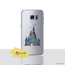 Disney Fan Art Case/Cover For Samsung Galaxy S6 / Screen Protector / Gel Castle
