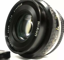 EXC+++++ NIKKOR 50mm F1.8 AI-S AIS MF LENS FOR NIKON F MOUNT FROM JAPAN
