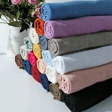 QX150G Per Meter Sand-washed Textured Crepe Gauze 100% Cotton Fabric