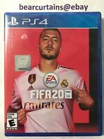 FIFA 20 PS4 2020 Standard Edition Brand New Sealed Fast Ship w Tracking