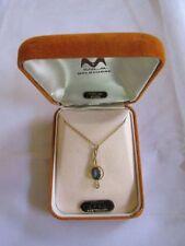 Opal Sterling Silver Pendant Vintage & Antique Jewellery