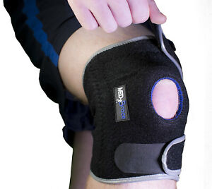 Knee Support Brace MEDiBrace Open Patella for Injuries or ARTHRITIS PAIN RELIEF
