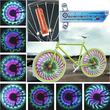 32 LED Patterns Cycling Bikes Bicycles Rainbow Wheel Signal Tire Spoke Light GT