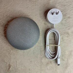 Google Home Model HOA Mini Smart Assistant Bluetooth Speaker Gray White Orange!