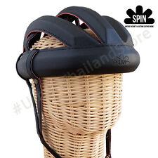 Vintage Cycling Bicycle Helmet Adult L'eroica Craft Hat Retro Classic AllBlack