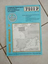 1996 CARTE SHOM special P- NAVIGATION-manche scilly ouessant/ scilly-7311 P