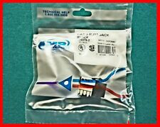 AMP 406375-2, Modular Ethernet Connectors, RJ11, Panel,  Tyco, 110,  (Qty 1)