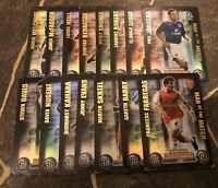 MATCH ATTAX 2007/08 SET OF 15 MAN OF THE MATCH CARDS GREAT CONDITION