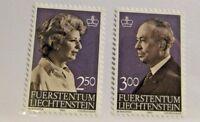 LIECHTENSTEIN Sc #767 768 ** MNH , postage stamps. fine +