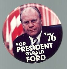 ATTRACTIVE FORD FLAG 1976 COLOR PRESIDENT PIN