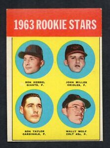 1963 Topps Rookie Stars #208  VGEX-EX      One Shipping*