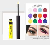Matte Glitter Makeup Eyeliner Gel Waterproof Liquid Eye Liner Beauty 12 Colour Y