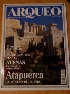 REVISTA ARQUEO, LA AVENTURA DE LA ARQUEOLOGIA Nº3 ATENAS, ATAPUERCA