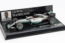 L. Hamilton Mercedes AMG f1 w07 #44 Australian GP Formule 1 2016 1:43 MINICHAMPS