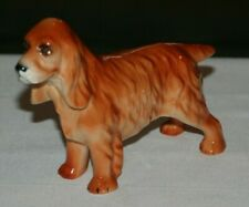 Vintage Adderley Floral Irish Setter Dog Figurine Bone China Made in England