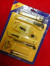 JINCHENG YELLOW COLOR 8 KNIVES ITEM 23922