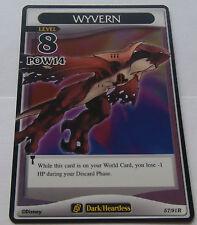 Carte Kingdom Hearts Wyvern rare !!!