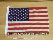 Flags Flag USA BOAT FLAG Table Bunting Biker 30 x 45 cm