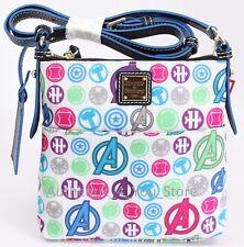 New Dooney & Bourke Disney Marvel Avengers Letter Carrier Crossbody Bag