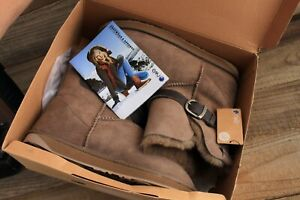 EMU Angels Lo Sheepskin Boots New in Box Size 9