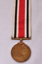 More details for special constabulary long service wwi medal
