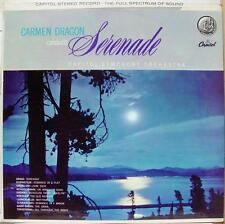 CARMEN DRAGON serenade LP Mint- SP8413 Vinyl 1958 Capitol USA FDS Stereo