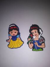SNOW WHITE  (Disney Princess) -SHOE CHARMS- Unbranded for Crocs & Jibbitz