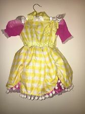 Lalaloopsy Deluxe Crumbs Sugar Cookie Halloween Cupcake Dress Sz 3 and up