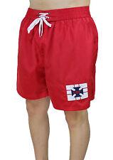 Hombre Traje Mar CBF Pantalones Cortos Shorts Rojo Blanco MAN'S de Baño