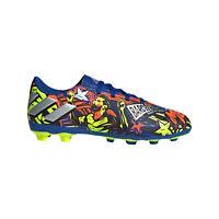 adidas Nemeziz Messi 19.4 FxG Firm Ground Kids Football Soccer Boot Blue/Multi