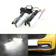For Benz Smart Fortwo 2013-2015 White DRL Daylights Led Daytime Running Lights