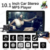 "10.1"" 2 Din Android 8.1 Car Stereo MP5 Player Radio GPS Navi Bluetooth + Camera"
