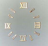 Watch Dial Hour Marker Small ROMAN Numbers Numerals 2.75mm Dots Parts Repair