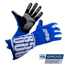 RRS Grip control racing gloves FIA approved hill climb rally BLUE size 11-XL