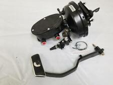 """Ford Mustang 9"""" Power Brake Booster + 1-1/8"""" Bore Master + Prop Valve Pedal Arm"""