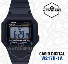 Casio W-217H Men's Standard Digital Watch W217H-1A