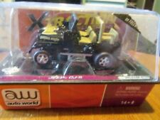 Rare Aw Autoworld Xtraction Jeep Cj-5 Ho Slot Car Black