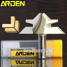 """ARDEN 45 Degree Medium Lock Miter Router Bit 1/2*1-3/4 Bit 1/2""""×1-3/4""""×45° Bits"""