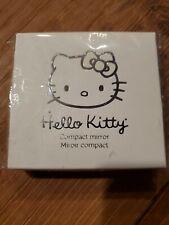 Hello Kitty bySanrio for Sephora Silver Compact Mirror ~ New ~ Rare ~