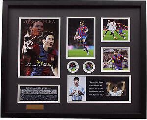 New Lionel Messi Signed FC Barcelona Limited Edition Memorabilia