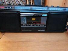 Panasonic RX-4910L Boombox Ghetto Blaster Cassette player & AM/FM radio