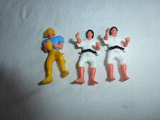 Lot d'anciens Kinder montables, sportifs, Judoka, rugbyman