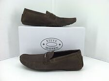 Steve Madden Mens Actionn Brown Loafers. Size 11 M