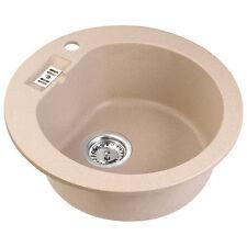 Für Bad & Küche Spülen ohne Abtropffläche | eBay | {Spülbecken granit rund 18}